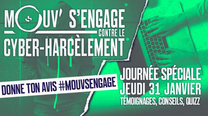 Mouv' s'engage contre le cyber-harcèlement
