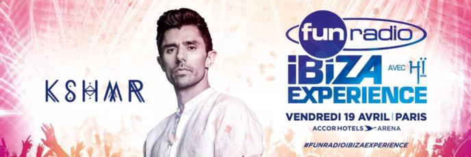 Fun Radio prépare sa Fun Radio Ibiza Expérience
