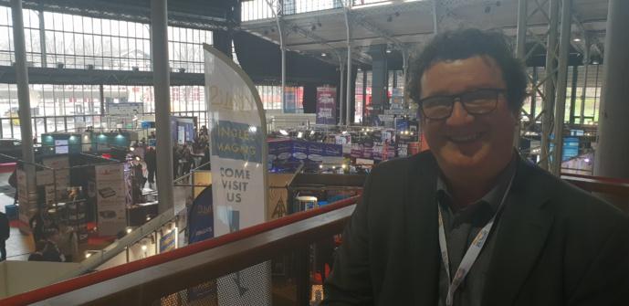 Philippe Zahno, spécialitse de la radio en Suisse, est aussi un fidèle du Salon de la Radio depuis... très longtemps © La Lettre Pro de la Radio