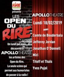 """Nouvelle session des """"Open du Rire"""" sur Rire & Chansons"""