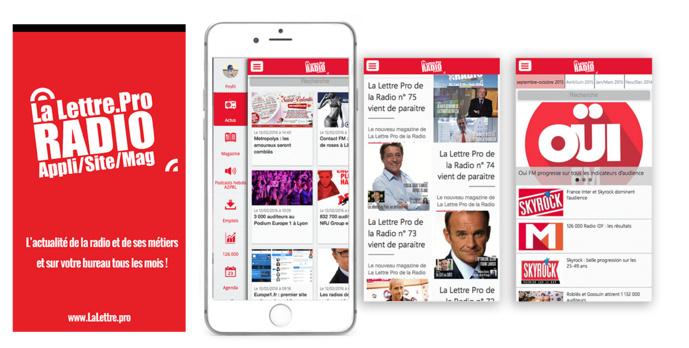 Téléchargez l'application gratuite de La Lettre Pro de la Radio