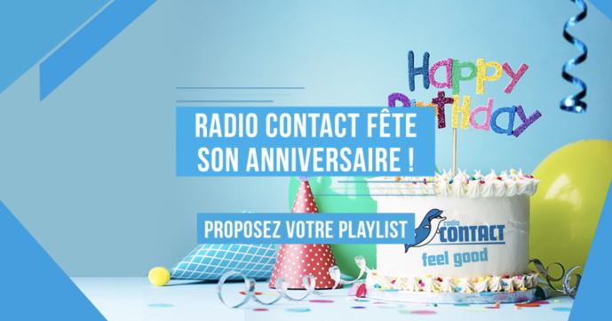 Radio Contact fête bientôt son anniversaire