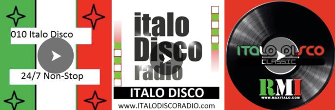 Le retour de l'Italo Disco sur plusieurs webradios