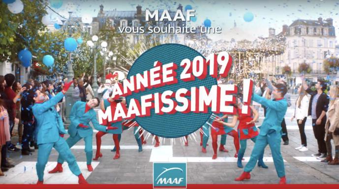 Mêmes tenues flashy, même chorégraphies, la Maaf a lancé en janvier une nouvelle campagne en surfant sur le succès de la précédente.