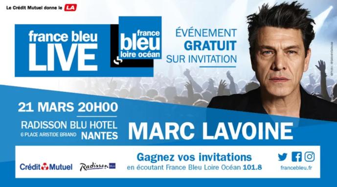 France Bleu Live : Marc Lavoine en concert privé à Nantes