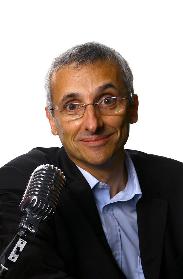 Bruno Lecluse a débuté la radio en 1979, en Belgique. © D.R.