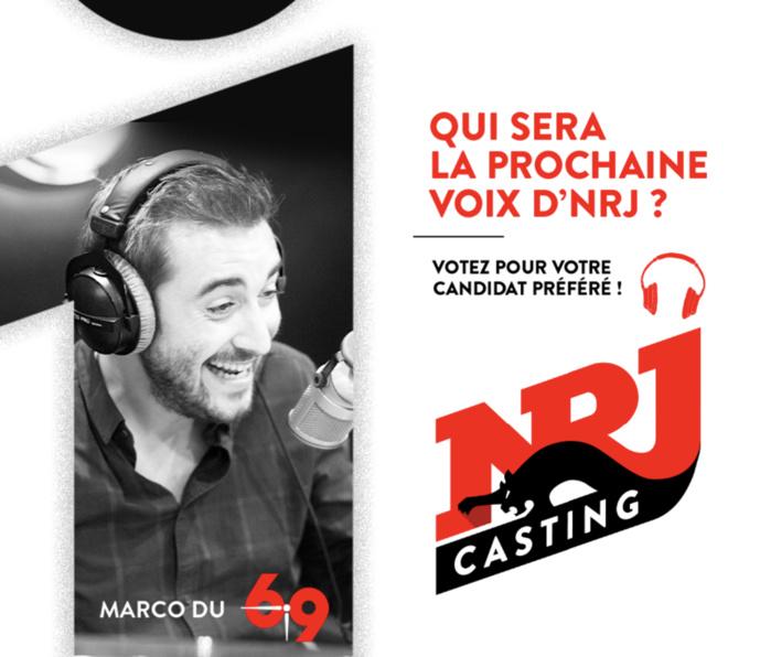 Casting : NRJ Belgique recherche sa nouvelle voix