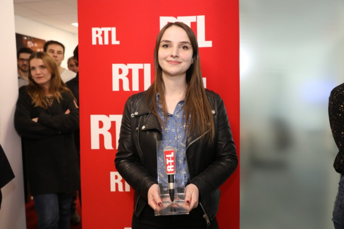 Charlotte Baris, lauréate de l'édition 2018 de la Bourse Jean-Baptiste Dumas