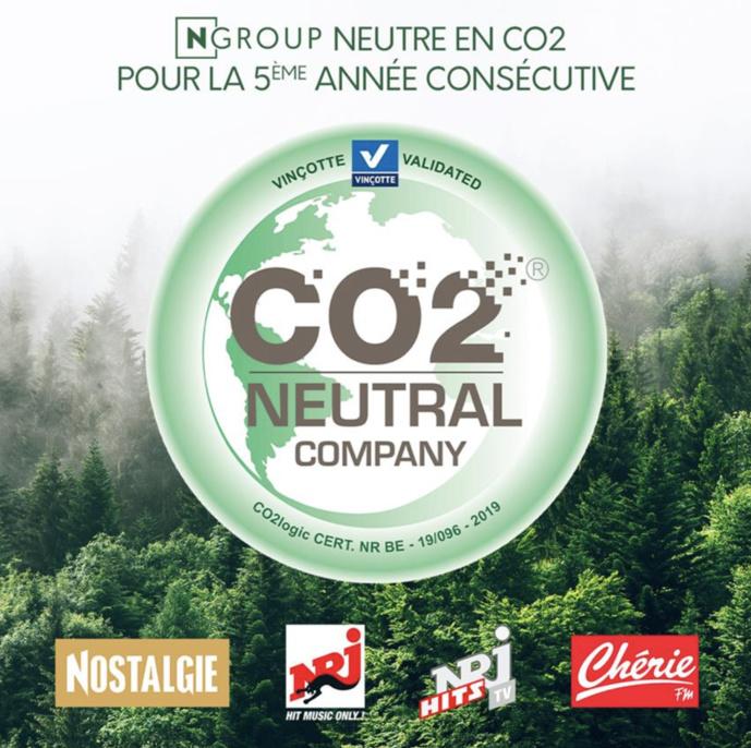 NGroup, le seul groupe média neutre en CO2 en Belgique