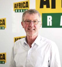 Dominique Guihot, le PDG d'Africa Radio