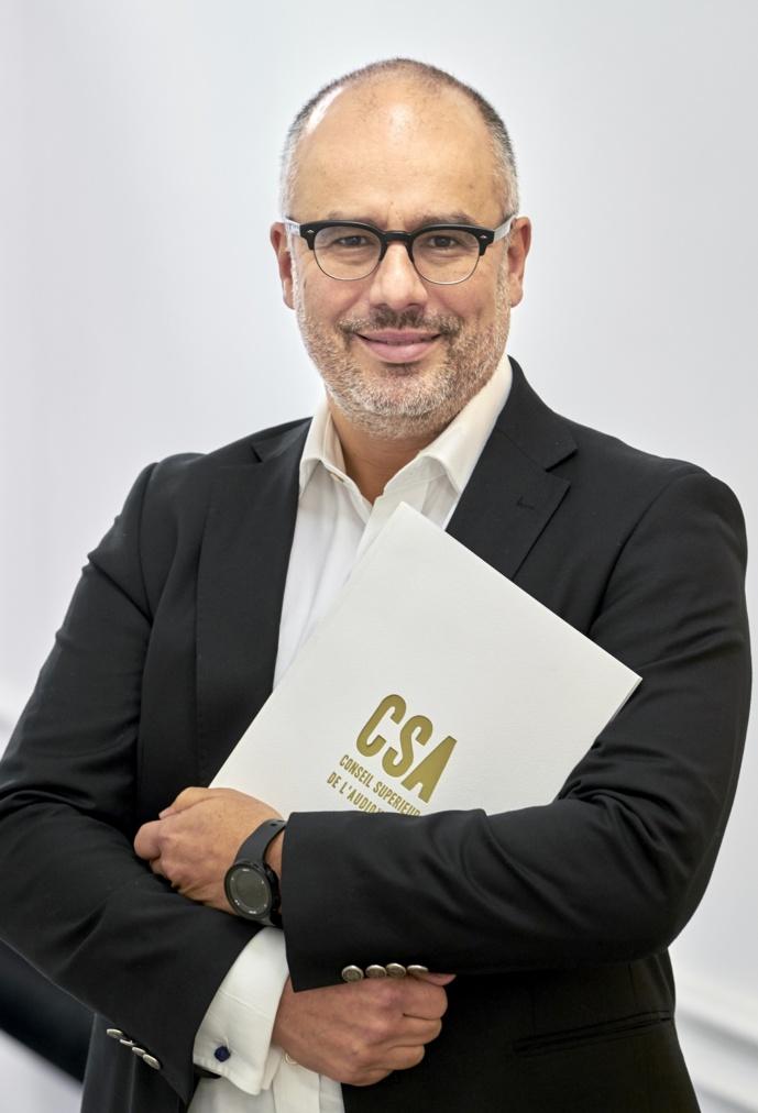 """""""On peut imaginer qu'à l'avenir d'autres appels d'offres permettront de compléter l'offre numérique"""", assure Karim Ibourki, président du CSA belge. © Olivier Polet"""