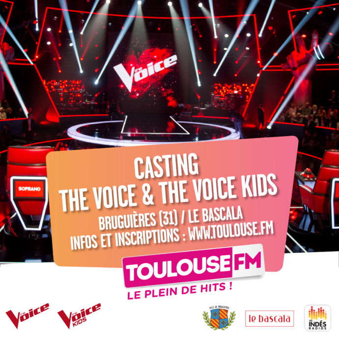Un casting The Voice avec Toulouse FM
