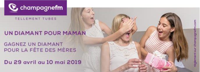 Fête des mères : Champagne FM offre un diamant