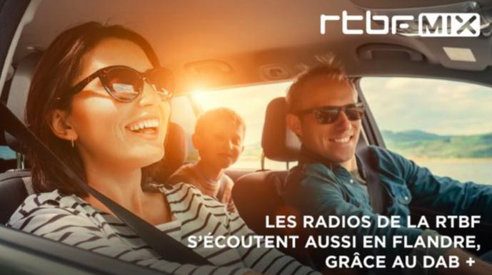 RTBF MIX s'écoute en Flandre, grâce au DAB+