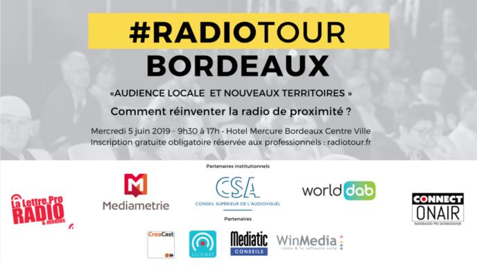 Radio Tour : rendez-vous à Bordeaux le 5 juin