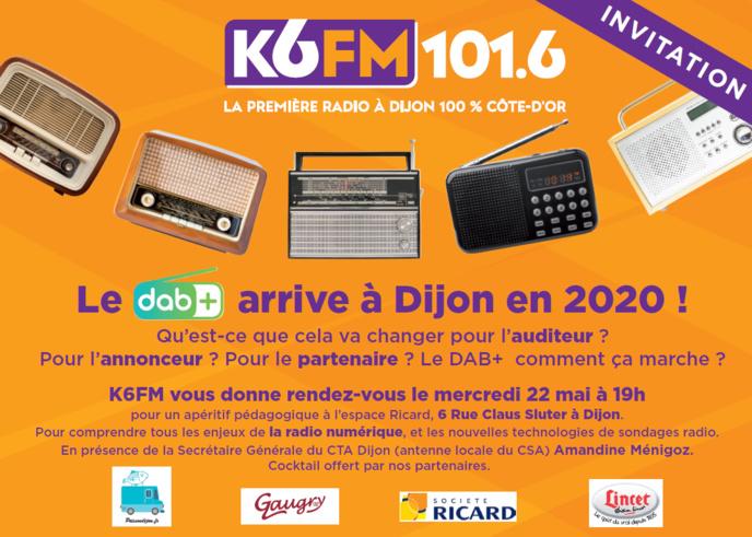 K6FM : un un apéritif pédagogique autour du DAB+