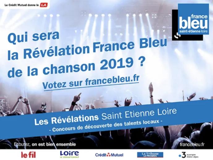 France Bleu : qui sera la Révélation 2019 de la chanson ?