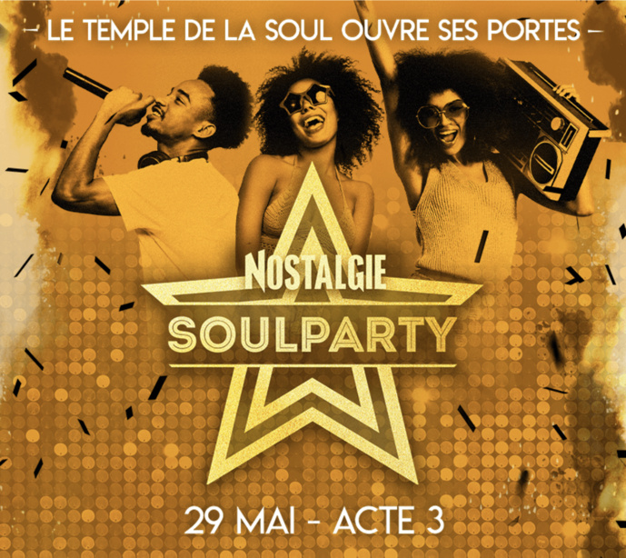Belgique : la SoulParty de Nostalgie est de retour