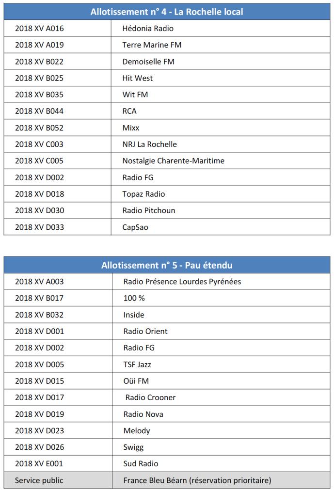 DAB+ : le CSA dévoile les radios sélectionnées sur plusieurs allotissements