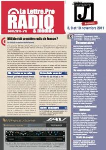 Pour télécharger La Lettre Pro de la Radio n°3 cliquez ici