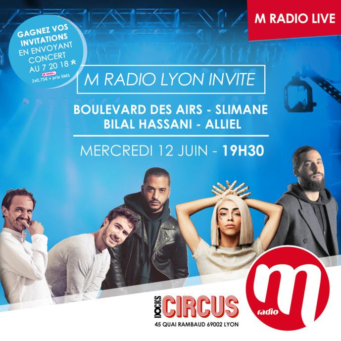 "M Radio : un ""M Radio Live"" à Lyon"