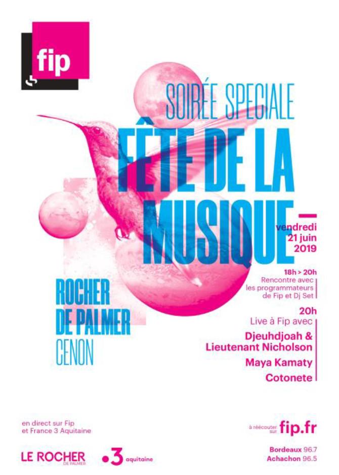 FIP fêtera la musique à Bordeaux