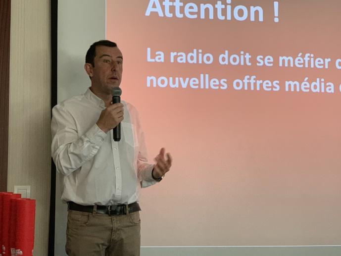 Hier, Jean-Charles Verhaeghe participait aux Casablanca Broadcast Days au Maroc
