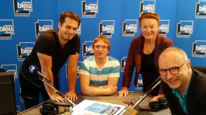 L'équipe de France Bleu Elsass © Radio France - Régine Jessel
