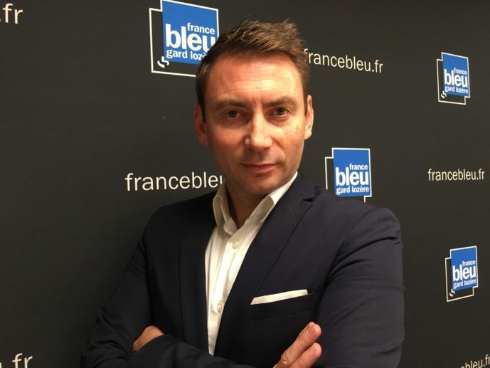 Cédric Conca, responsable des programmes de France Bleu Azur. Crédits : Radio France