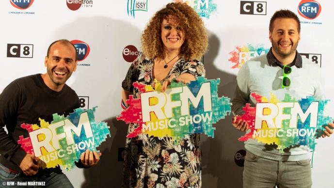 Succès pour le RFM Music Show à Issy-les-Moulineaux
