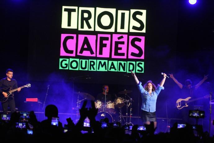 Le groupe corrézien Trois Cafés Gourmands au Totem Music Live
