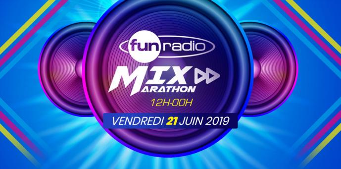 Le 21 juin, Fun Radio Belgique fête la musique avec le Mix Marathon