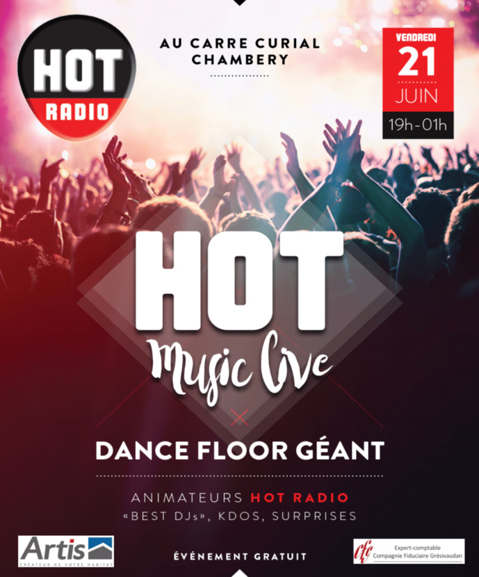 "Hot Radio organise son ""Hot Music Live"""