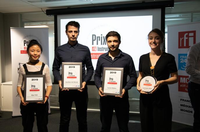 Cinq lauréats au Prix RFI Instrumental