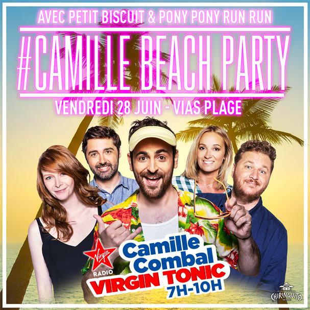 À la plage avec Virgin Radio