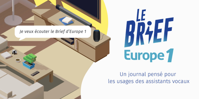 "Europe 1 lance ""Le Brief Europe 1"""