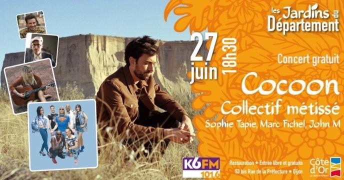 K6FM dans les jardins du Département de la Côte d'Or