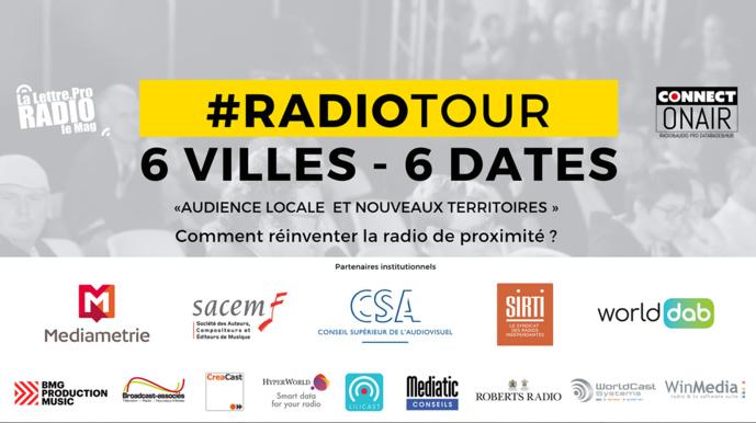 RadioTour : le programme heure par heure à Nantes