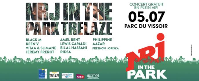 NRJ : un grand concert en plein air à Trélazé