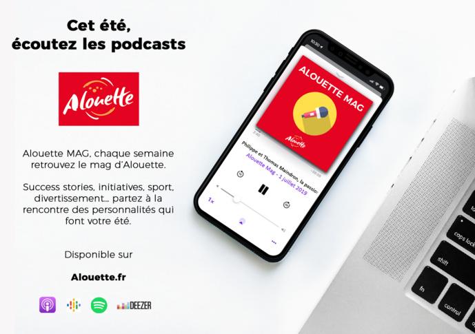 Alouette lance son premier podcast natif