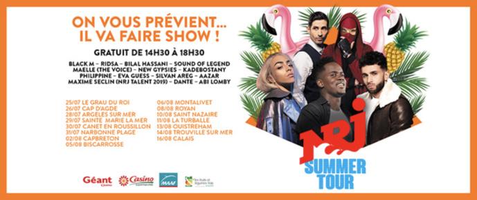 NRJ lance sa tournée d'été : le NRJ Summer Tour