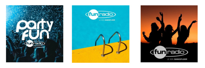 Fun Radio propose ses playlists sur les plateformes de streaming