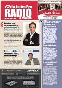 Achat au Numéro - La Lettre Pro de la Radio n°9 - Achetez ce numéro