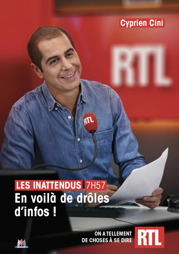 Rentrée : RTL lance une nouvelle campagne publicitaire