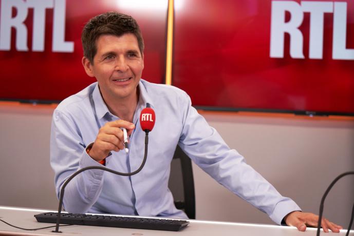 Retour de Thomas Sotto à la radio, sur RTL. © Nicolas Gouhier Sipa Press pour RTL