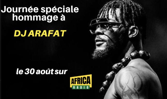 Africa Radio rend hommage à DJ Arafat