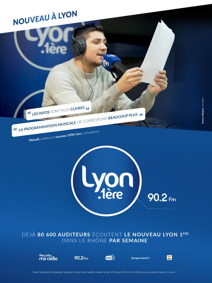 Lyon 1ère lance sa première campagne TV et presse