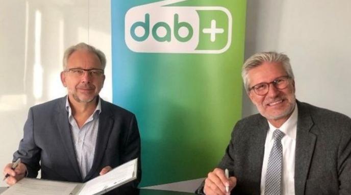 Jean-Paul Philippot (Administrateur Général RTBF) et Toni Wimmer (Directeur de la BRF) © RTBF