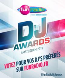 Fun Radio DJ Awards : les votes sont ouverts