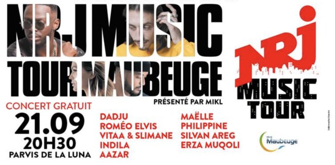 "Maubeuge reçoit le ""NRJ Music Tour"""